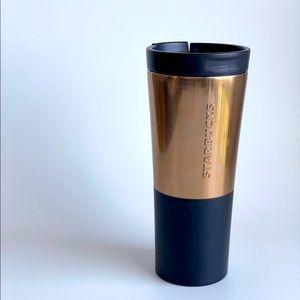 Starbucks Bronze Black Stainless Steel Tumbler